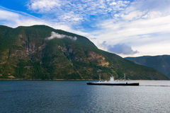 Fjord Sognefjord - Norway Royalty Free Stock Image