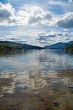 Fjord Tay royaltyfria bilder