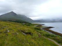 Fjord Torridon Arkivbilder