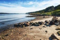 Fjord Vejle arkivbild