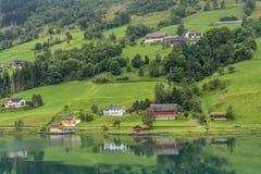 Fjord vieux Image libre de droits