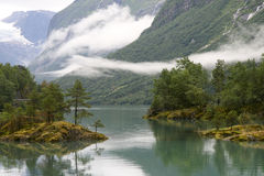 Fjord view Royalty Free Stock Photo