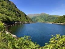 Fjord w Szkocja obrazy royalty free
