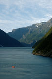 Fjorde Lizenzfreie Stockfotografie