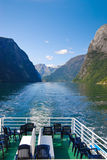 Fjorde von Norwegen Stockfotos