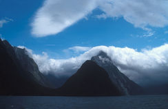 Fjorden Stock Foto