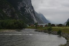 Fjorden Fotografia Stock