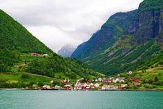 Fjorden in Noorwegen stock afbeeldingen