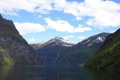 fjordgeiranger Royaltyfri Bild