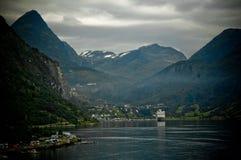 fjordgeiranger Royaltyfria Foton