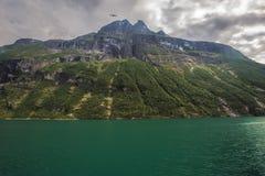 fjordgeiranger norway Arkivfoton