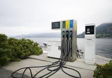 Fjordkraftstoff. Stockbilder