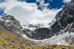 Fjordland National Park, Southern Alps, New Zealand Stock Photography