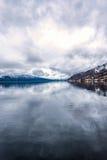 Fjordlandschaft Stockfotos