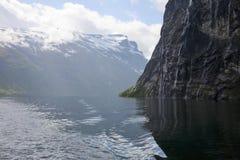 fjordliggande Arkivbilder