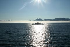 fjordnorrman arkivbilder