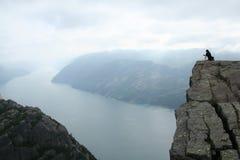 fjordnorrman royaltyfri fotografi