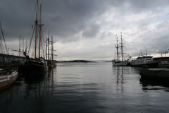 fjordoslo vägar Arkivfoton