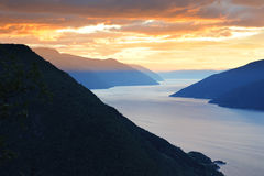 Fjords Royalty Free Stock Photos