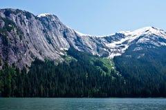 Fjords brumeux Photo libre de droits