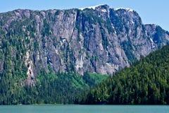 Fjords brumeux photo stock