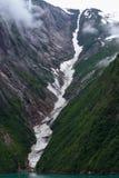 Fjords d'Alaska Photographie stock