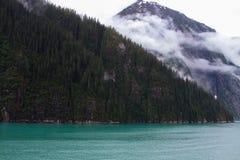 Fjords d'Alaska Photo stock
