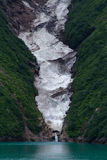Fjords d'Alaska Images stock