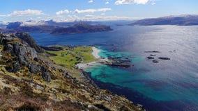 Fjords d'og Fjordane de Sogn Photos stock