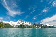 Fjords de Kenai photo libre de droits