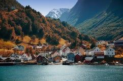 Fjords de la Norvège Belles vues photos stock