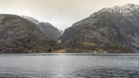 Fjords em Noruega Fotografia de Stock