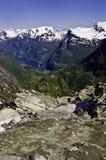 Fjords en Norvège Photographie stock