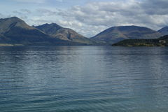 Fjords en Nouvelle Zélande Photo libre de droits