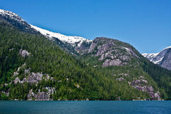 Fjords enevoados fotos de stock royalty free