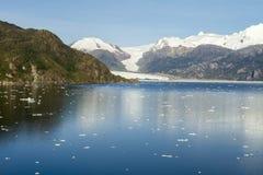 Fjords et Manche chiliens de Sarmiento Photo stock