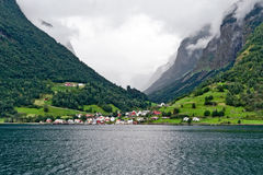 Fjords, Norway Stock Images