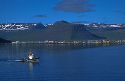 Fjords of Iceland Stock Image