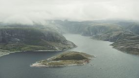 Fjords of north Norway. The Fjords of north Norway stock video