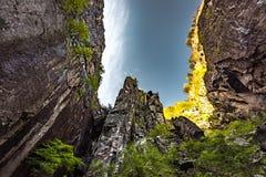 Fjords noruegueses Imagens de Stock Royalty Free