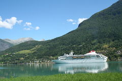 Fjords norvégiens Photos stock