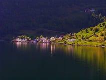 Fjords norvégiens Photo stock
