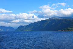 Fjords in Norway Royalty Free Stock Image