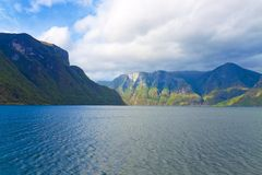fjords Norway Fotografia Stock