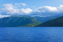 fjords Norway Obraz Royalty Free