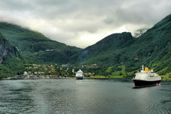 Fjords of Norway Stock Images