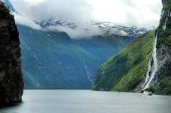 fjords Norway Zdjęcia Stock