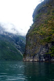 Fjords in Norway. Norway fjords travel destination in Europe Stock Photography