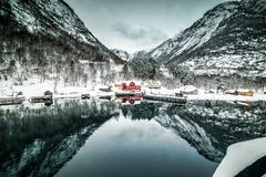 Fjords in Norway Stock Photo