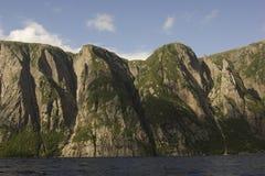 Fjords occidentaux d'étang de ruisseau Image libre de droits
